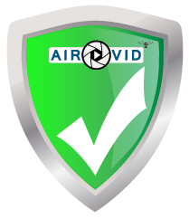air-vid badge