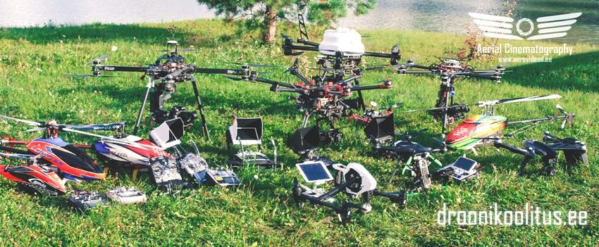 Aerovideod.ee droonikoolitused